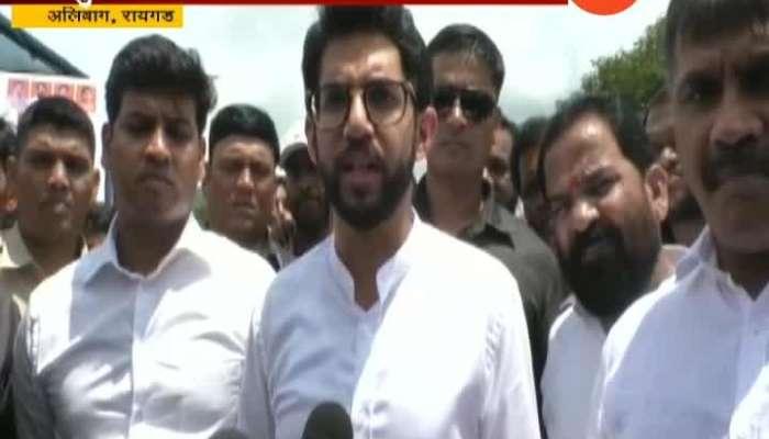 Raigad Aditya Thackeray On Road Conditions