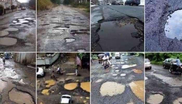 राज्यातील महामार्ग, शहर रस्ते खड्यांत; वाहतूक कोंडीची मोठी समस्या
