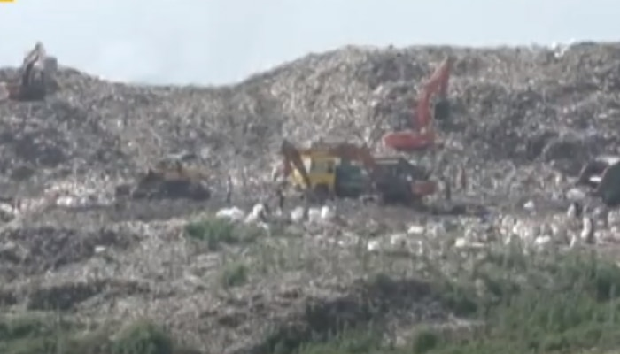 कधी पाहिला आहे का कचऱ्याचा डोंगर?
