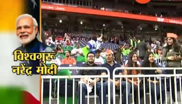 USA Visit PM Narendr modi Howdy Modi Jallosh in Stadium 22 Sep 2019