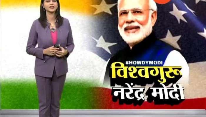 USA Visit PM Narendr modi Meet to kasmiri pandit,shikh 22 Sep 2019