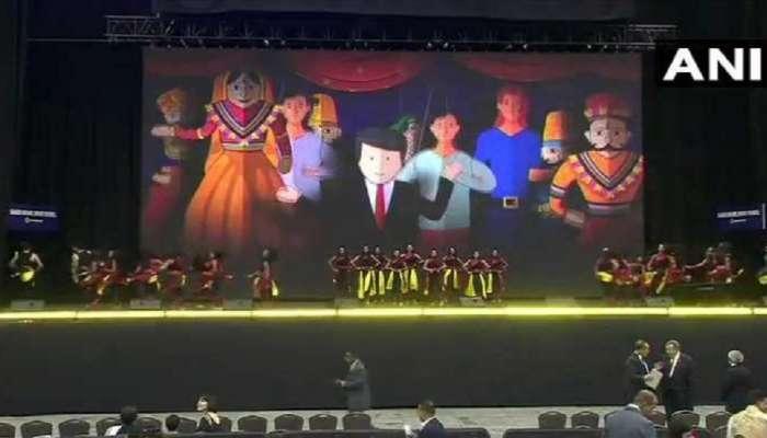 ह्युस्टनचे एनआरजी स्टेडियम मोदीमय; मोदींच्या भाषणाची उत्सुकता