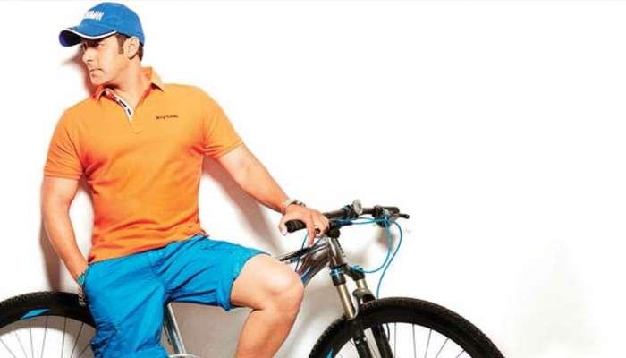 आवड म्हणून नव्हे, तर या कारणामुळे सायकल चालवतो सलमान