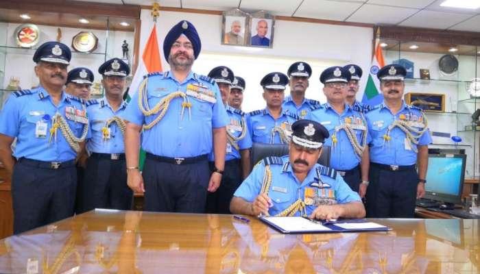 पदभार स्वीकारताच भारतीय वायुदल प्रमुखांचं मोठं वक्तव्य