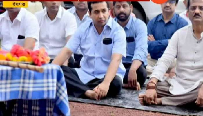 Nitesh Rane Attend RSS Vijyadashami Utsav.