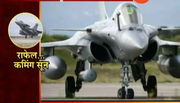 नवी दिल्ली   पहिलं राफेल विमान आज भारताकडे सुपूर्द