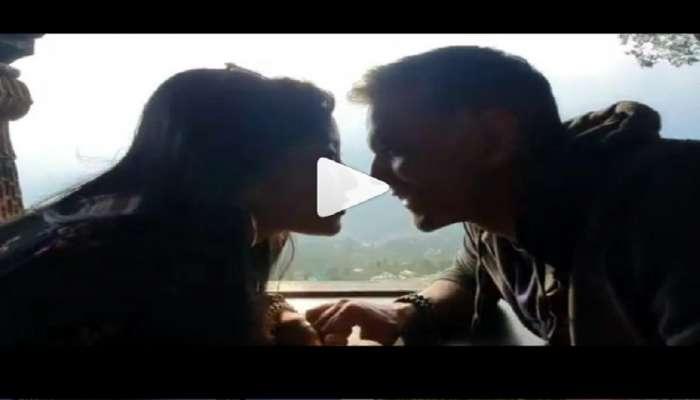 मिलिंद सोमण आणि अंकिताचा Kissing Video वायरल