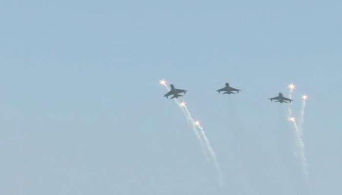 भारतीय हवाई दलाकडून सामर्थ्याचे प्रदर्शन