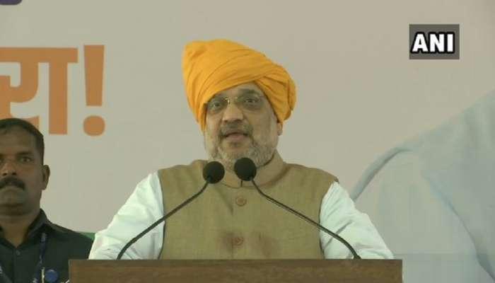 'नरेंद्र-देवेंद्र' म्हणजे विकासाचे डबल इंजिन; महाराष्ट्र पुन्हा एक नंबर होणार- शाह