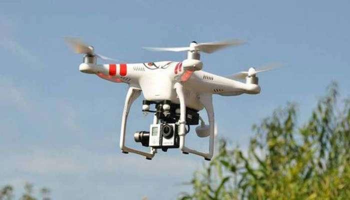 भारत-पाकिस्तान सीमेवर संशयित ड्रोन