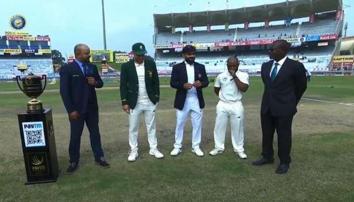 म्हणून रांची टेस्टमध्ये '३ कर्णधार' टॉससाठी आले