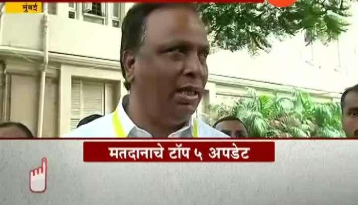 Mumbai BJP Ashish Shelar Voting Reaction