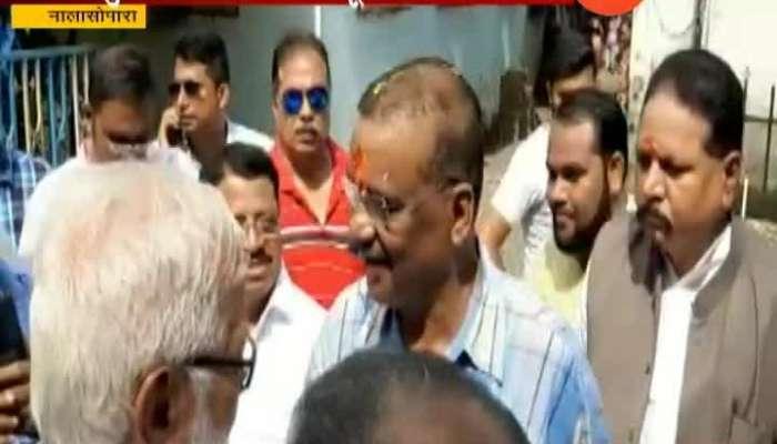 Nalasopara Hitendra Thakur Will Not Contest Election