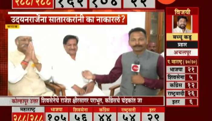 Satara Karad Shriniwas Patil And Prithviraj Chavan On Udayanraje Bhosale