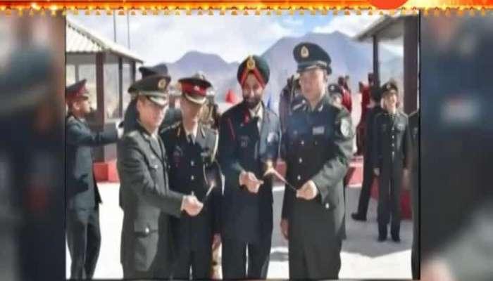 Diwali Celebration on India China Border