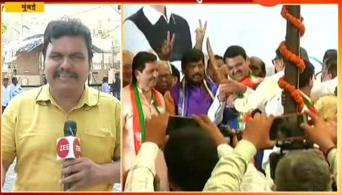Chandrakant Patil On CM Devendra Fadanvis Sworn