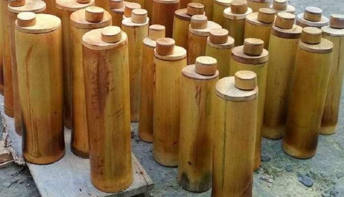 प्लॅस्टिकच्या जागी आता बांबूच्या बॉटल्सचा वापर