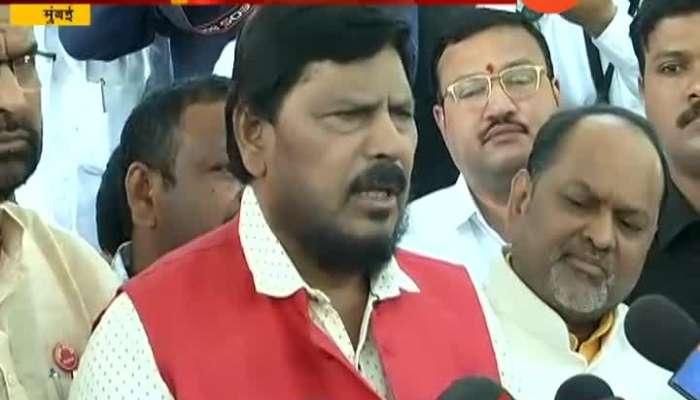 Mumbai Ramdas Athavale on Alliance
