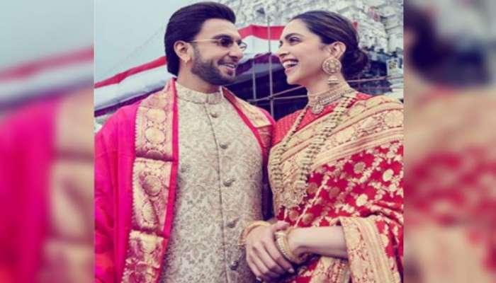 Wedding Anniversary : दीपिकाच्या साडीचं असंही 'खास' कनेक्शन