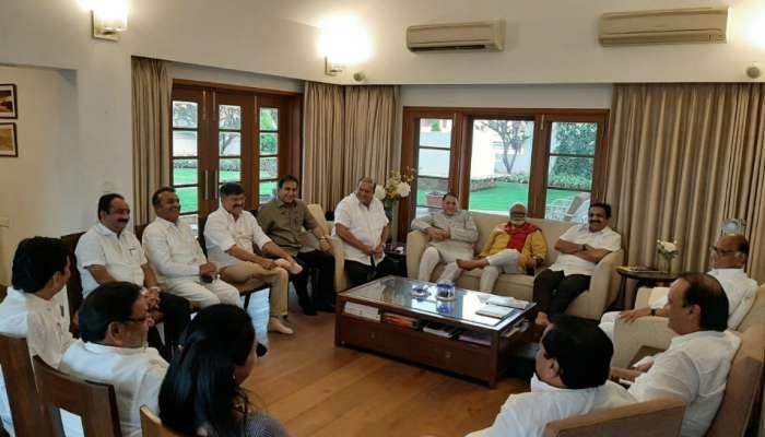 'पर्यायी सरकार' देण्यासाठी उद्या शरद पवार-सोनिया गांधींची बैठक