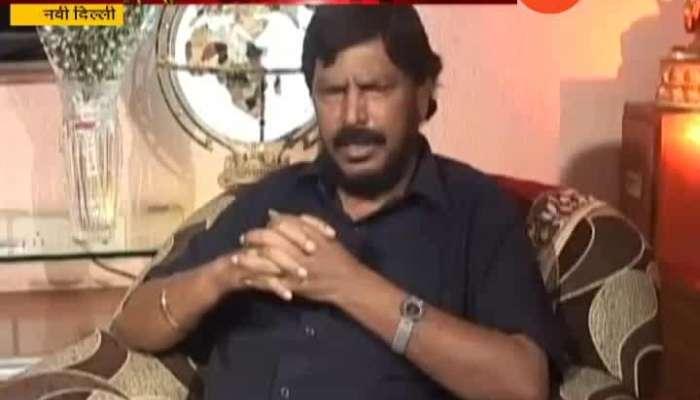 New Delhi Ramdas Athwale New Formula For Maharashtra Government Formation