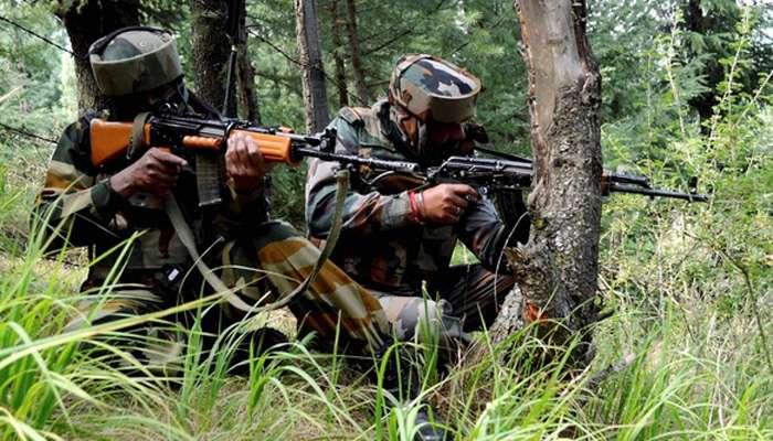 जम्मू-काश्मीरमध्ये दहशतवाद्यांच्या ठिकाणांवर जवानांची कारवाई