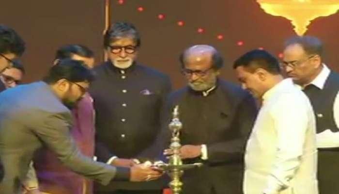 #IFFI 2019 : अमिताभ बच्चन-रजनीकांत यांच्या हस्ते 'IFFI'ची दणक्यात सुरूवात