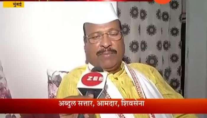 Shiv Sena MLA Abdul Sattar threatens