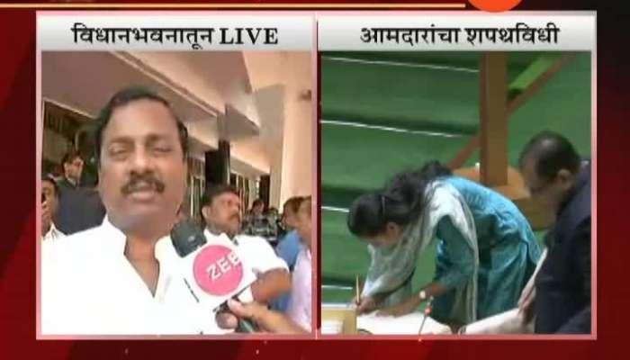 Mumbai Sunil tatkare And Aditi tatkare Sworn