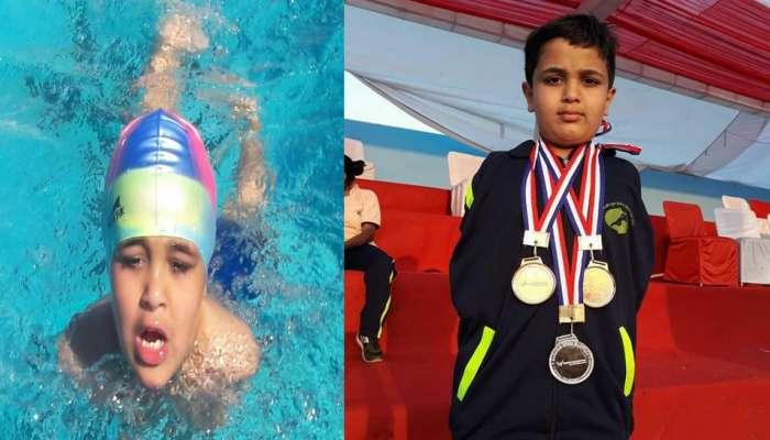 WORLD DISABILITY DAY : १२ वर्षीय 'डॉल्फीन', हात नसूनही स्विमिंगमध्ये अव्वल