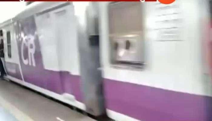 Mumbai Man Pushed From Harbour Local Train