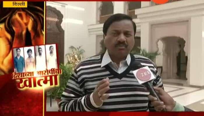 NCP leader sunil tatkare raction on hyderabad rape murder accused encounter