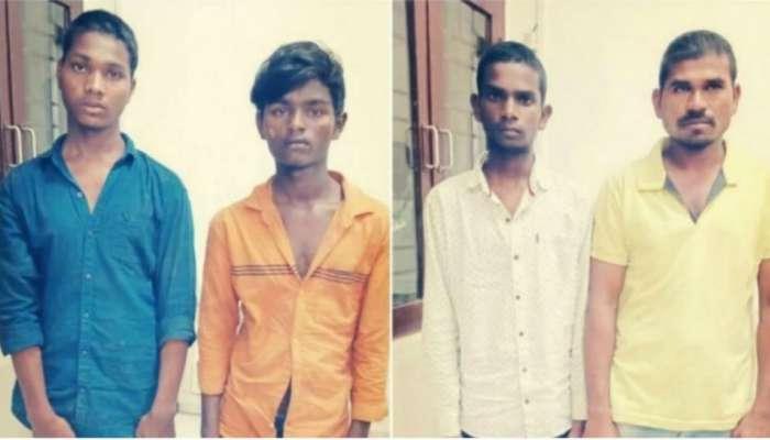 हैदराबाद बलात्कार प्रकरणातल्या चारही आरोपींचं एन्काऊंटर