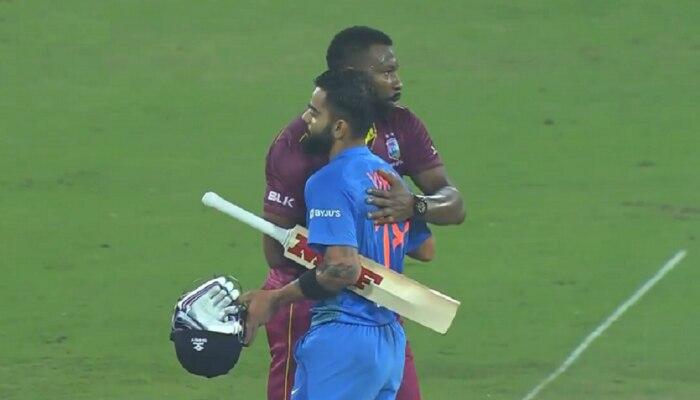 पहिल्या टी२० सामन्यात भारताचा वेस्टइंडिजवर दणदणीत विजय
