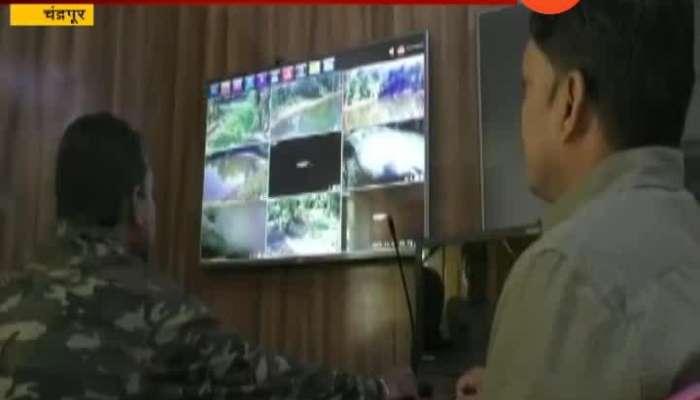 Chandrapur CCTV In Jungle