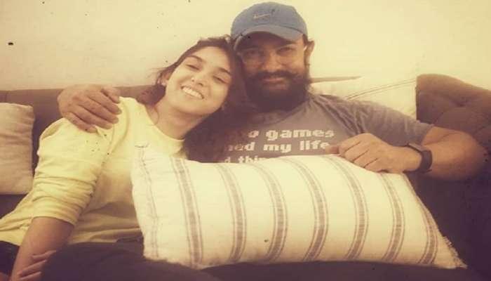 लेकीसाठी आमिर खानची भावूक पोस्ट