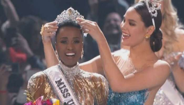 दक्षिण आफ्रिकेची सौंदर्यवती ठरली Miss Universe 2019
