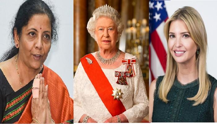 निर्मला सीतारमण राणी एलिझाबेथ, इव्हान्का ट्रम्पपेक्षा ही शक्तीमान- फोर्ब्ज