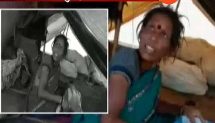 lankabai kharat | woman gives birth to 21 children | beed