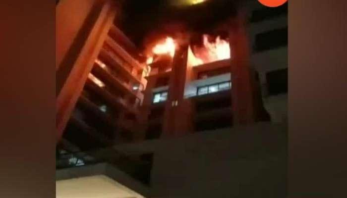 Mumbai Vile Parle Fire In Building Update