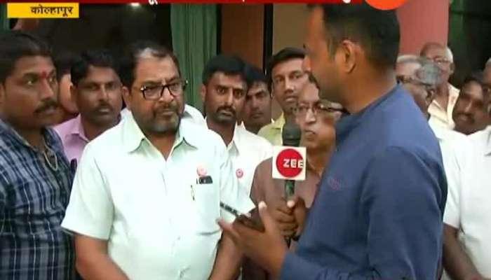 Kolhapur Raju Shetty Not Happy On Farmers Loan Waiver