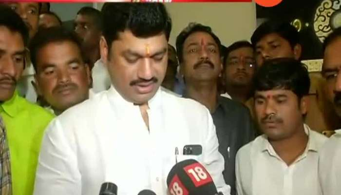 Mumbai NCP Leader Dhananjay Munde On Swearing In As Cabinet Minister