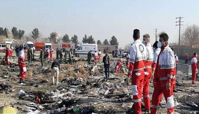 'तांत्रिक बिघाडानं नाही तर इराणच्या हल्ल्यात कोसळलं युक्रेनचं विमान'