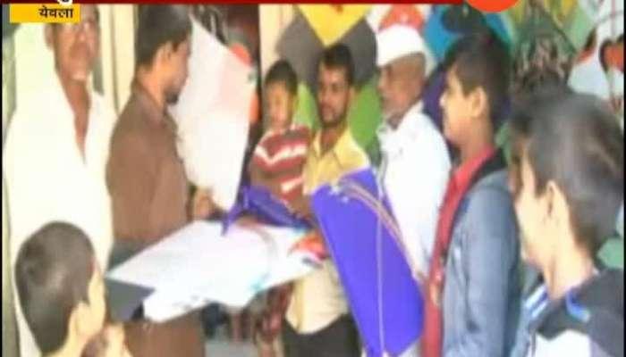 Yeola People To Celebrating Patang Mahotsav
