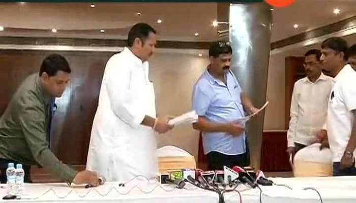 BJP Leader Shivendraraje And Chandrakant Patil Criticise Shiv Sena MP Sanjay Raut