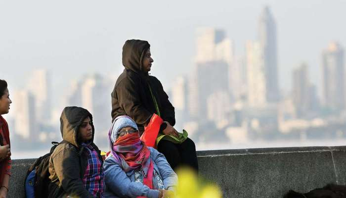 #हुडहुडी : मुंबईचा पारा आणखी खाली जाणार