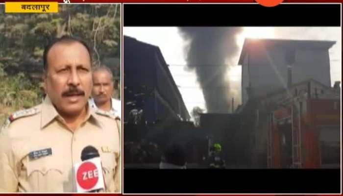 Badlapur MIDC Ground Report On Blast In Factory