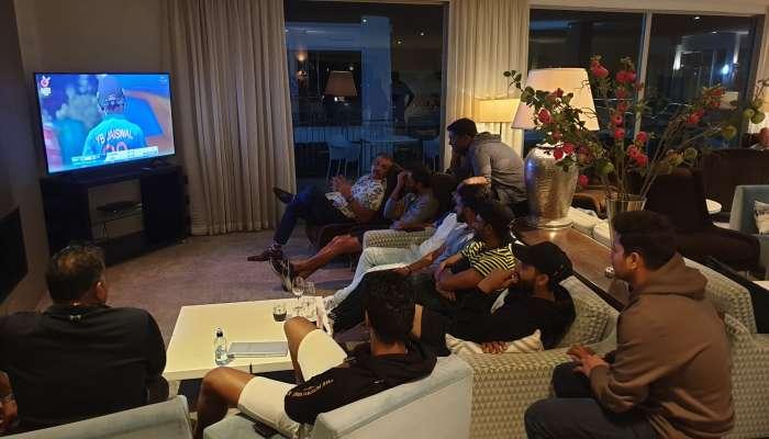 U-19 World Cup: 'टीम इंडिया' वर्ल्ड कप फायनल बघण्यात मग्न