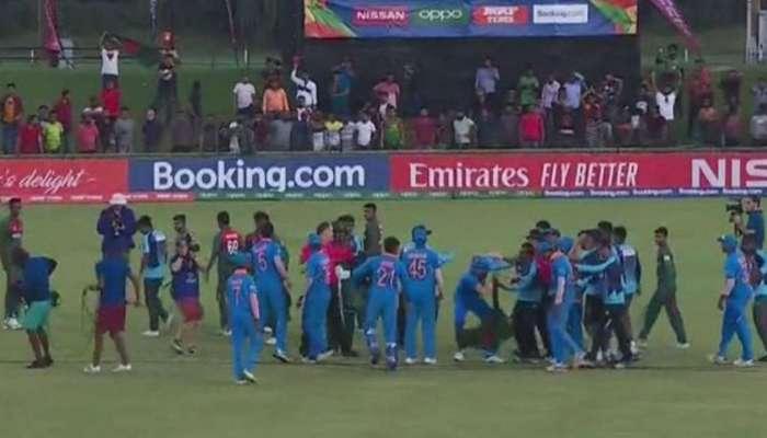 वर्ल्ड कप जिंकल्यानंतर बांगलादेशी खेळाडूंचा विजयी 'उन्माद'