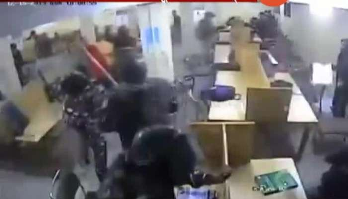 New Delhi Jamia University Shocking Video Of Police Beating Students In Library